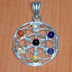 Mandala Chakra Pendant