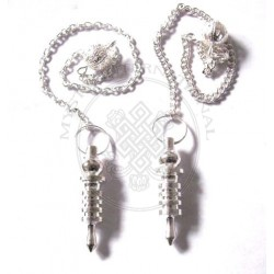 Silver Plated Isis Pendulums 3 Plates