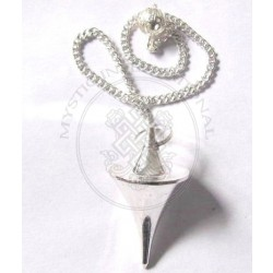 Egyptian Silver Plated Metal Pendulums