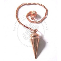 Egyptian Carved Copper Pendulums