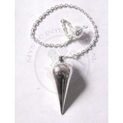 Silver Plated Dowsing Metal Pendulums