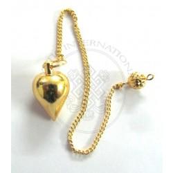 Gold Tear Drop Metal Pendulums