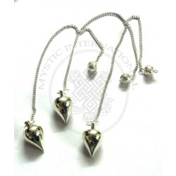 Silver Tear Drop metal Pendulums