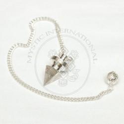 Silver Metal Pyramid Pendulums