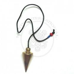 Gold Cone Plane Metal Pendulums