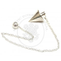 Silver Cone Metal Pendulums