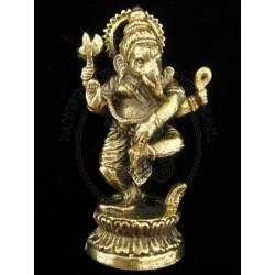 dancing ganesha statue cum pendant