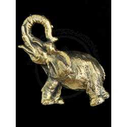 elephant statue cum pendnat
