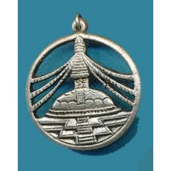 Buddhist Stupa Pendant