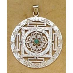 Buddhist Mandala Pendants