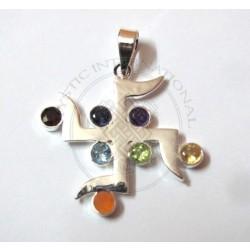 sathiya chakra pendant