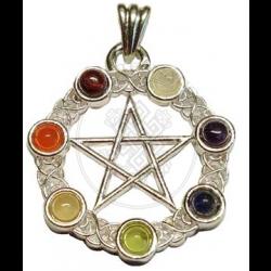 Pentacle Chakra Pendant