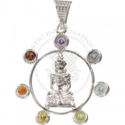 Buddha Chakra Pendant