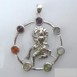 Ganesha Chakra Pendant