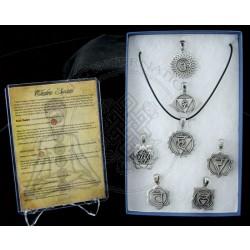 Chakra Symbol Pendants
