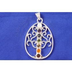 Tree Of Life Chakra Pendant