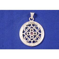 buddhist mandala pendant