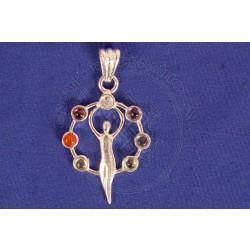 Goddess Chakra Pendant
