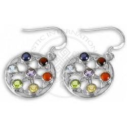Mandala & flower of life Earrings