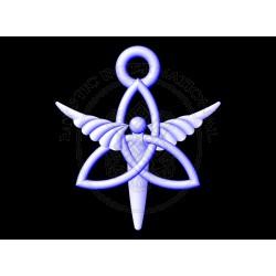 Angel Triquetra Pendant