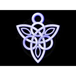 triquetra celtic pendant
