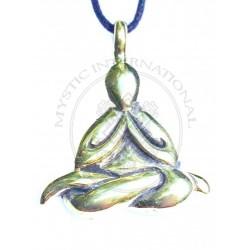 Namste yoga pendant