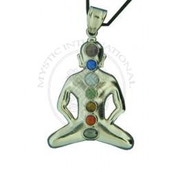 yoga chakra pendant