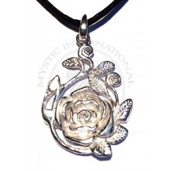rambling rose pendant