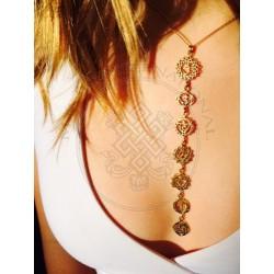 chakra symbol neckless