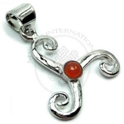 triskel pendant