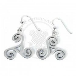 triskel earrings