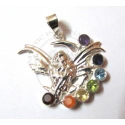 moon fairy chakra pendant
