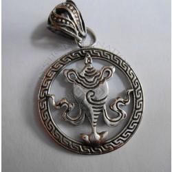 buddhist auspicious symbol pendant