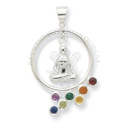 Mudra and Yoga Chakra Pendant